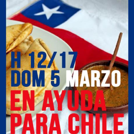 En ayuda para Chile! – In aiuto per il Chile