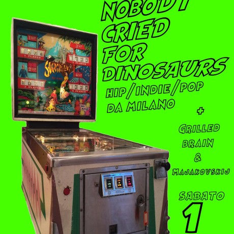 Nobody Cried for Dinosaurs + grilled brain