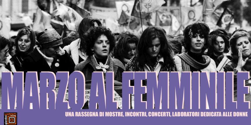 MARZO AL FEMMINILE
