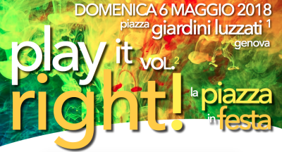 Play It Right!Vol. 2 – LA PIAZZA IN FESTA