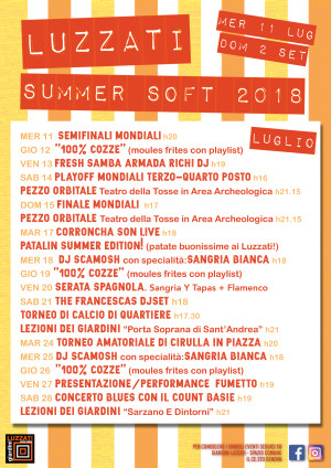 LUZZATI SUMMER SOFT 2018